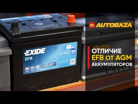 Аккумуляторы EFB. Улучшенные свинцово-кислотные аккумуляторы. Новая технология производства.