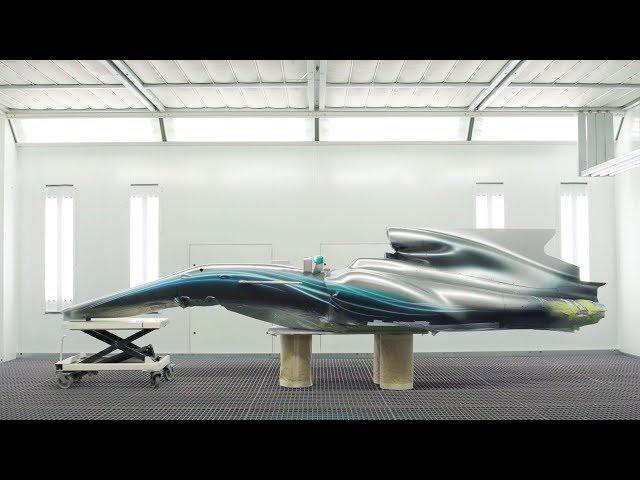 SNEAK PEEK: 2018 Mercedes F1 Livery Revealed!