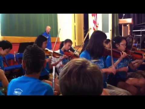 Westchester county center music camp 2013 ensemble 3