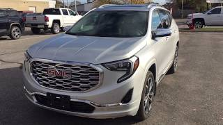 2018 GMC Terrain AWD Denali Auto Park Assist Handsfree Liftgate Oshawa ON Stock #180275