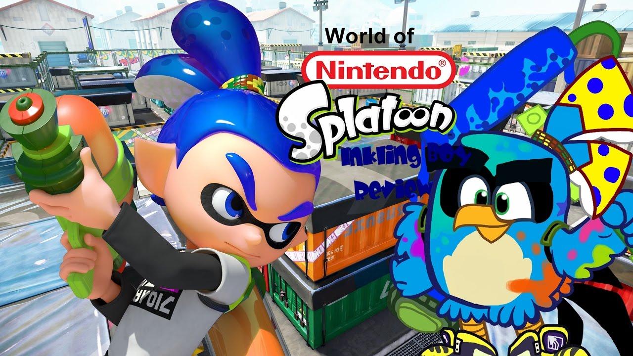 World Of Nintendo Inkling Boy Figure Review