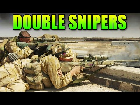 Double Sniper Team Destroys The Enemy! | Battlefield 4 Double Vision