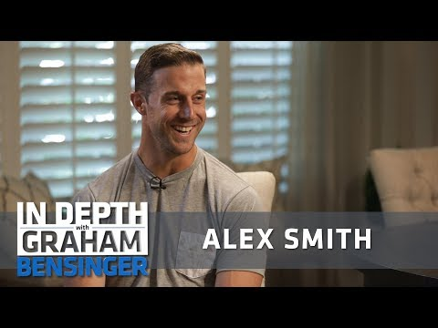 "Alex Smith: Finally learning to say ""F**k it"""