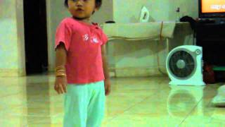 cute baby sing many songs. (Indonesian children songs)