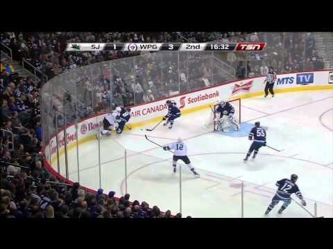 San Jose Sharks vs. Winnipeg Jets 17.03.2015