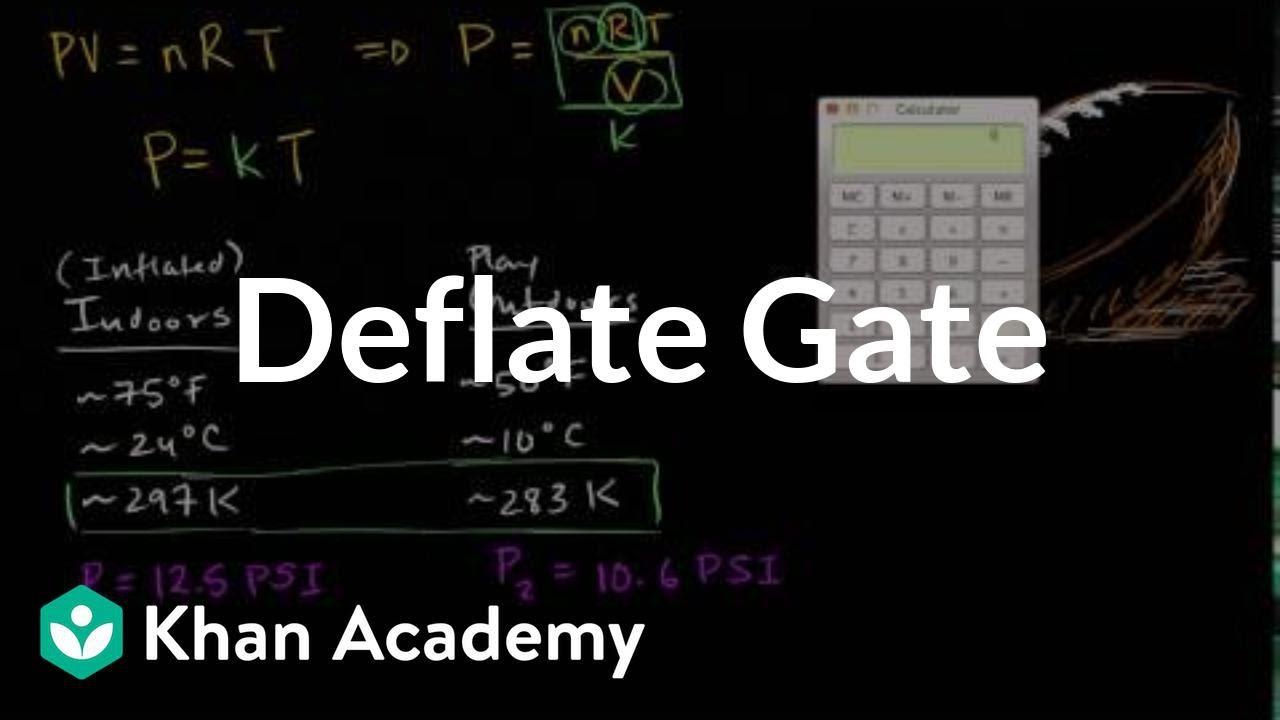 Deflate gate