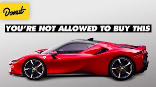 Why Some Supercars Take More Than Money To Buy