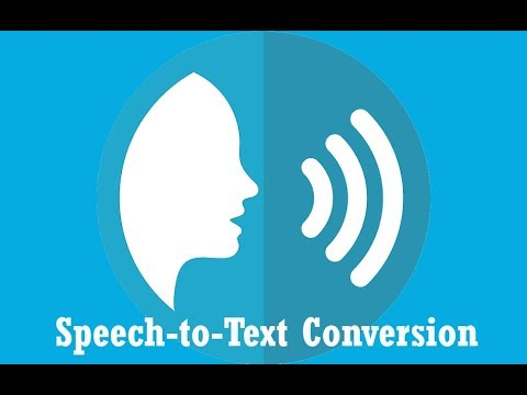 IOT based speech to text