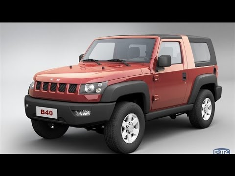 Baic Bj40 2015 北汽 China Youtube
