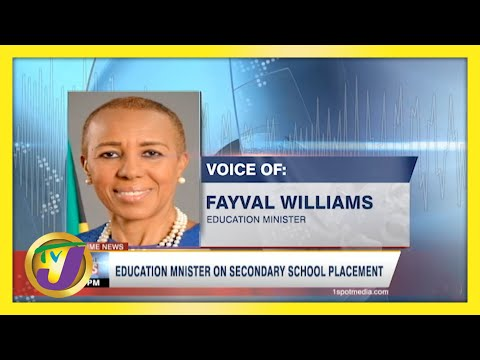 Education Minister on Secondary School Placement | TVJ News - May 8 2021