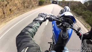 yamaha xt660x test drive wheelies