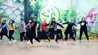 Download Mp3 Zumba Dangdut || Seperti Mati Lampu - Nassar- Andi,yogie,gio With Conrad || Haza