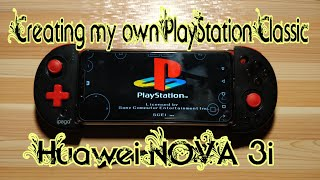 Creating my Own Playstation Classic Portable with Nova 3i
