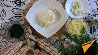 На вкус как амгиал: готовим кукурузные блины с сыром