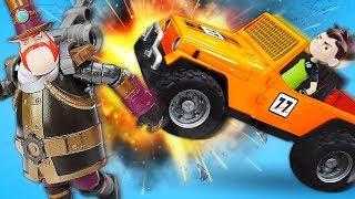 Видео про игрушки из мультфильма: Бен Тен выбрал сломанную машину!