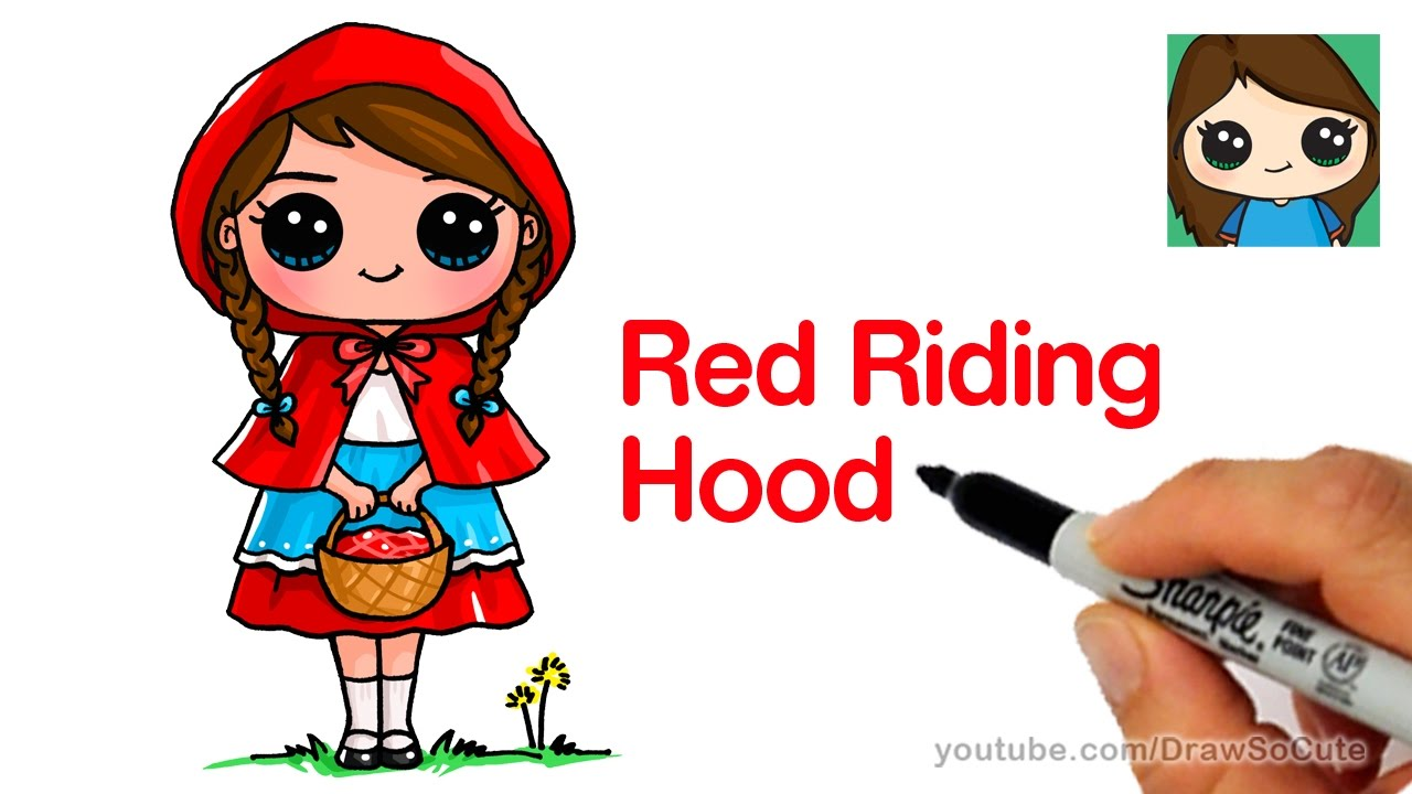 Cartoon Characters Hood : Little red riding hood cartoon characters pixshark