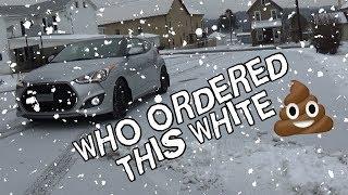Snow Prep for the Hyundai Veloster Turbo смотреть