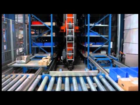 Lalesse Europe automatische magazijnsystemen en logistieke toepassingen