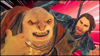 CHAMPION OF THE ARENA!   Middle Earth: Shadow of War Funny Moments
