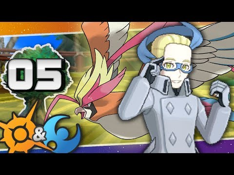 Pokémon Sun and Moon Battle Tree #05 | Colress' True Power!