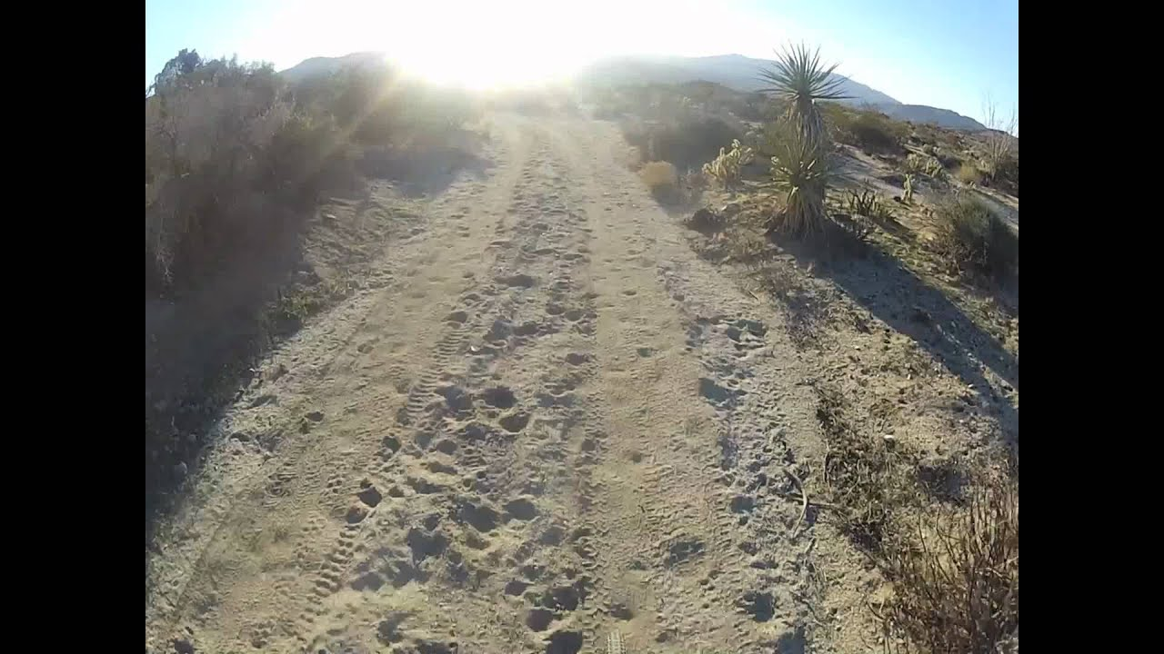 Anza Borrego Mountain Bike Youtube