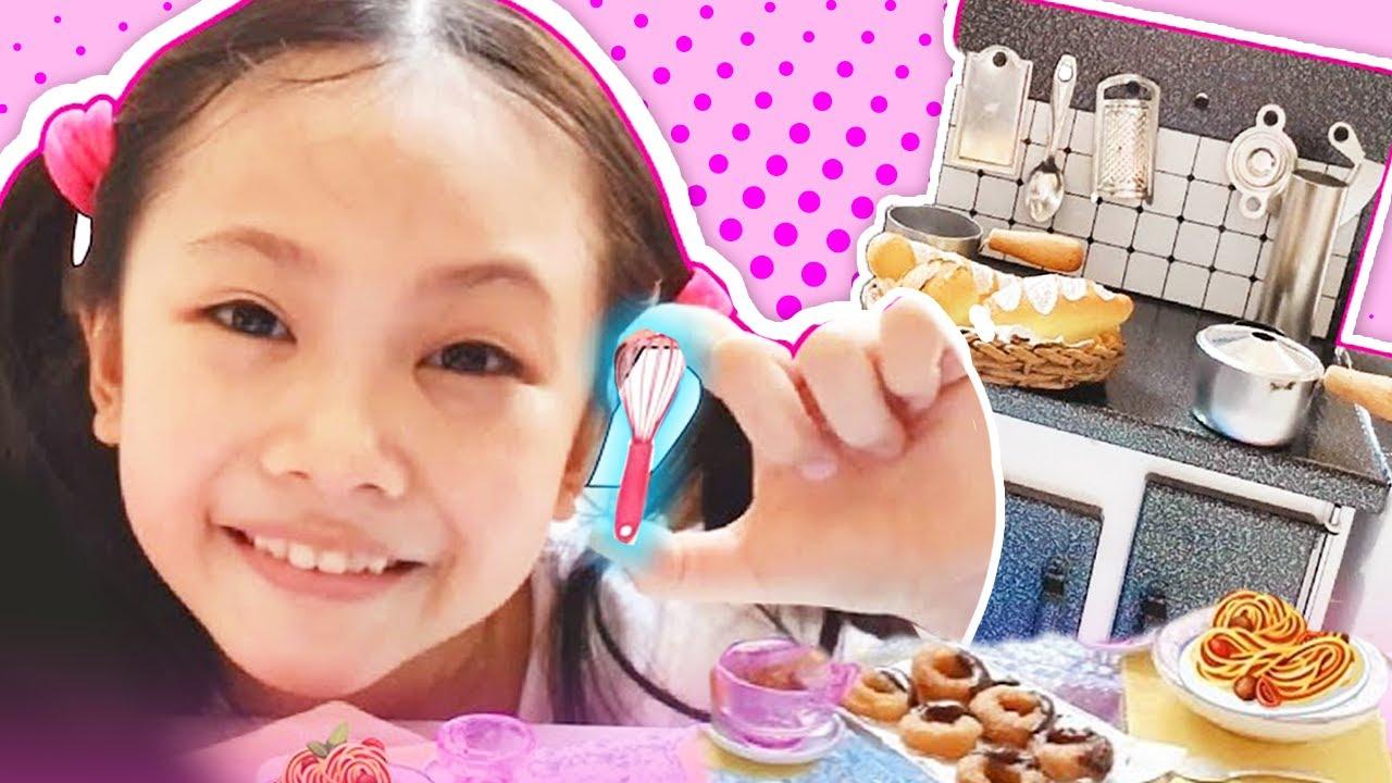 Bug S Real Mini Food Kitchen Set Omg Youtube