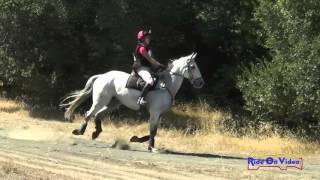 065XC Jeanine Allred on Snap Decision II Intermediate Cross Country Woodside Oct 2015