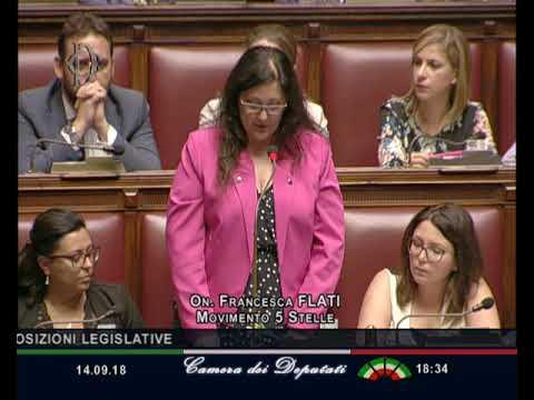 Francesca Flati - Dichiarazione di voto sul Decreto #Milleproroghe 14/09...  di @YouTube - UkusTom