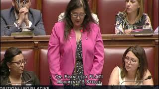 Francesca Flati - Dichiarazione di voto sul Decreto #Milleproroghe 14/09/2018
