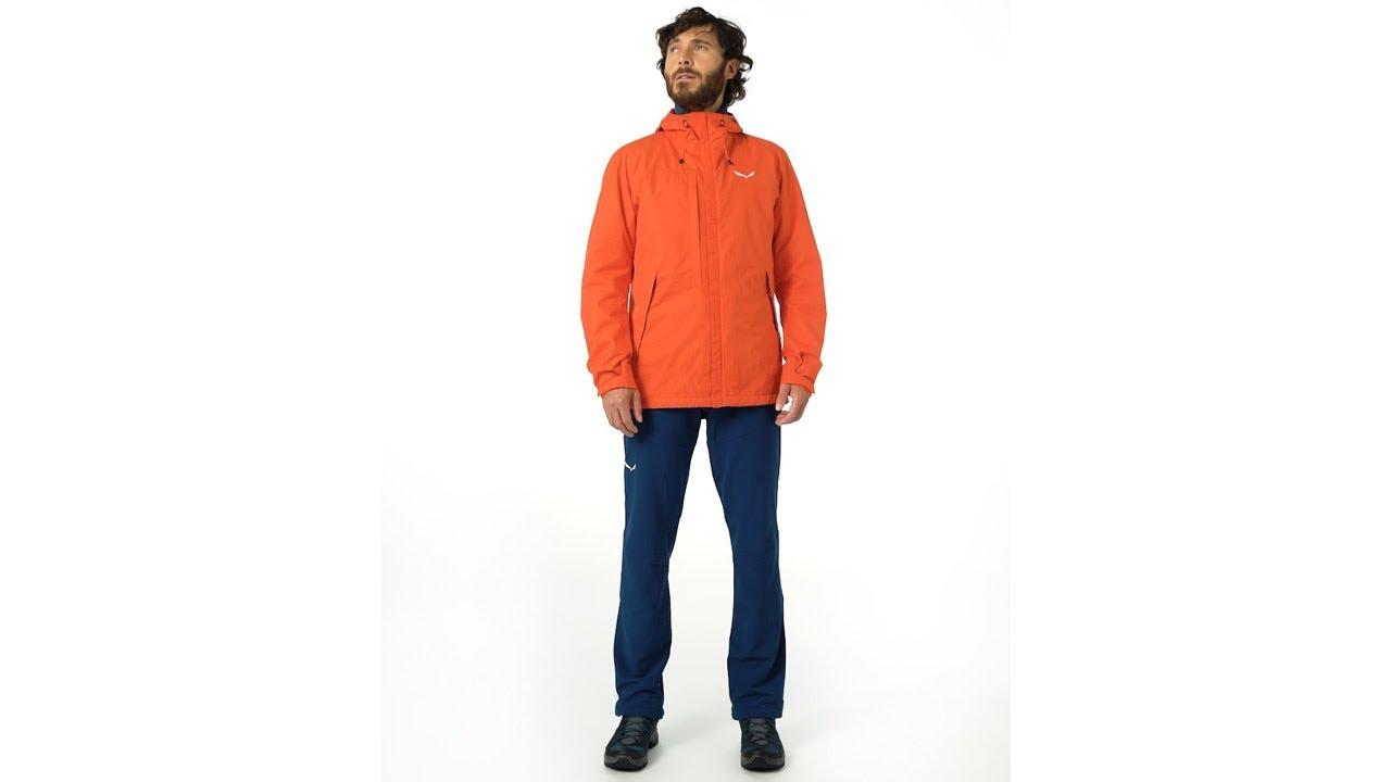 nuovi stili 01eae e8620 SALEWA Puez Clastic Powertex 2 Layers Hardshell Men's Jacket