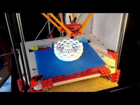 0 - Rostock - Delta Robot 3D-Printer (Update)
