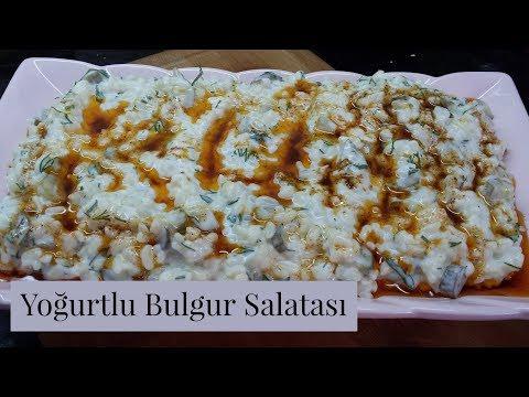 Yoğurtlu Bulgur Salatası Tarifi - Naciye Kesici - Yemek Tarifleri