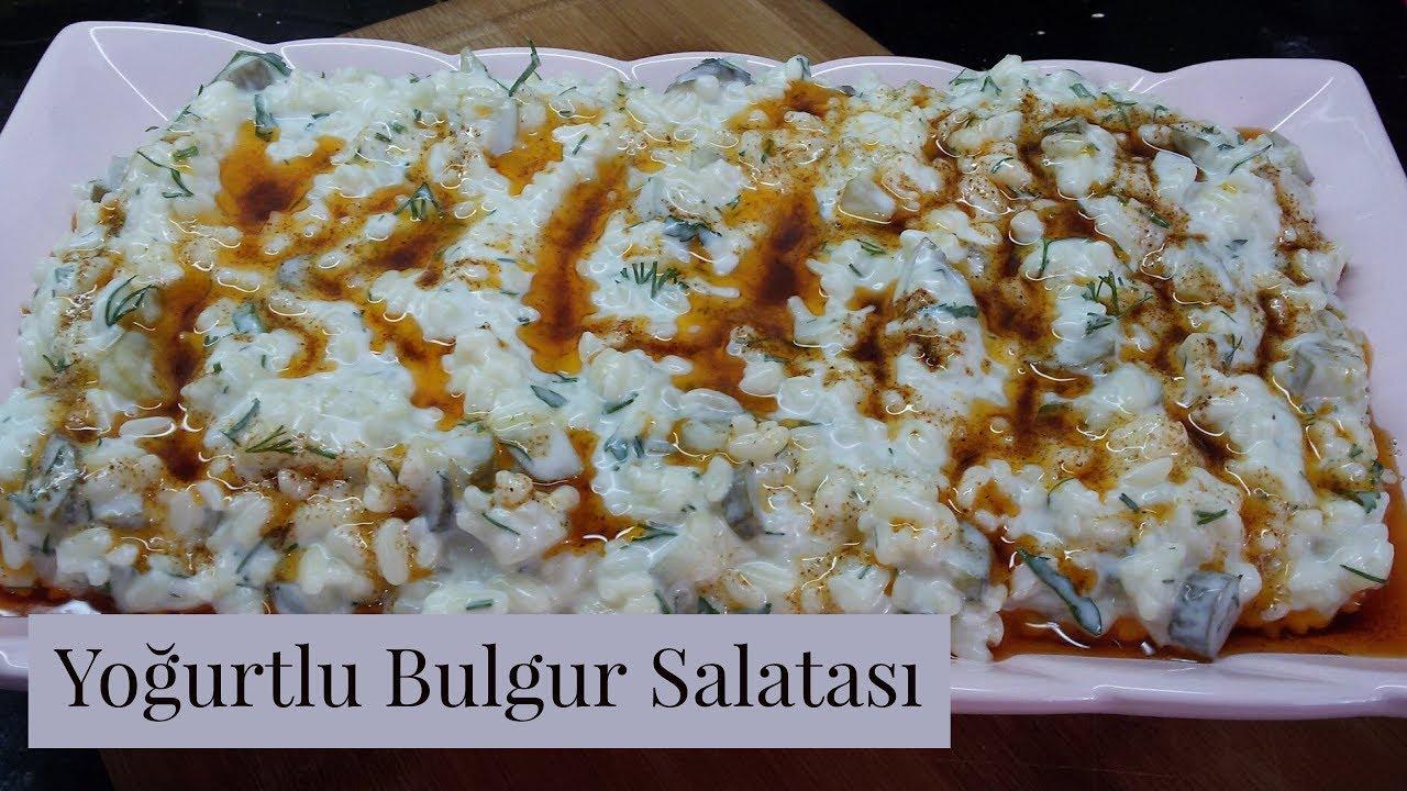 Yoğurtlu Buğday Salatası Videosu