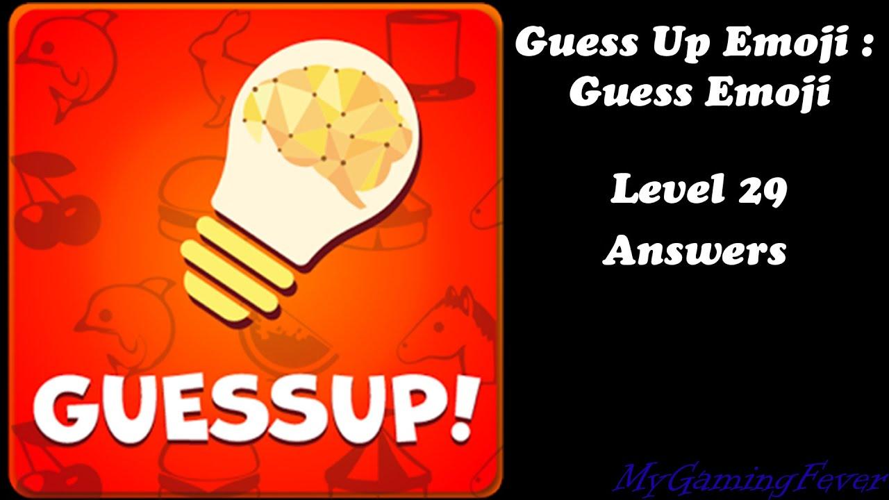 Guess Up Emoji Guess Emoji Level 29 Answers Youtube
