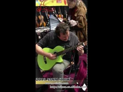 Acoustic Guitar|Aileen Music 2013 NAMM Show-Best Music Instrument Supplier.mp4