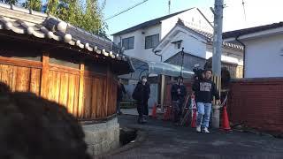 白いコートの方が高島礼子さんです。
