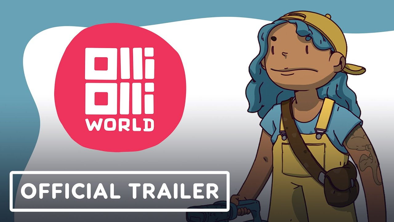 OlliOlli World - Official Gameplay Trailer | Summer of Gaming 2021 - IGN