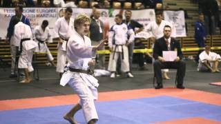 2nd WUKF European Karate Championships, Győr-Hungary, 5th to 9th October 2011.  SUMMARY FILM