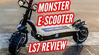 Nanrobot LS7 Review | INSANE 50MPH Electric Scooter