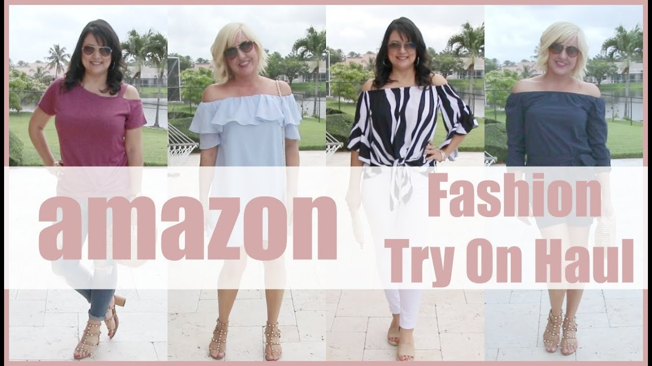d2b7b3f40f Amazon Try On Haul | Budget Friendly Spring Fashion Trends 2019 for Women  over 35