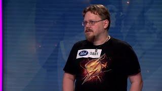 Henrik Lindgren - Show Must Go On av Queen (hela audition 2019) - Idol Sverige (TV4)