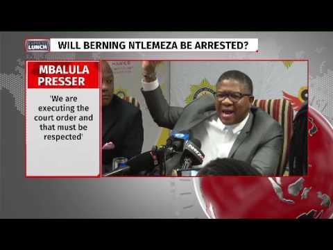 SA no banana republic, Mbalula tells Ntlemeza