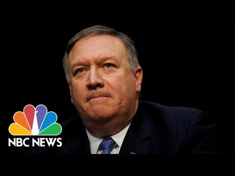 Watch Live: Mike Pompeo Senate confirmation hearing