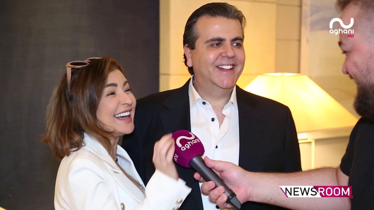 جمال سنّان يعنّف ماغي بو غصن وهي تردّ بقبلة أمام الكاميرا!