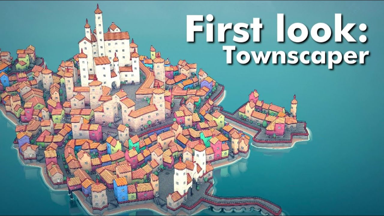 First Look: Townscaper - YouTube
