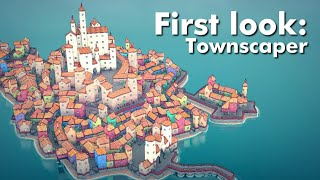 First Look: Townscaper