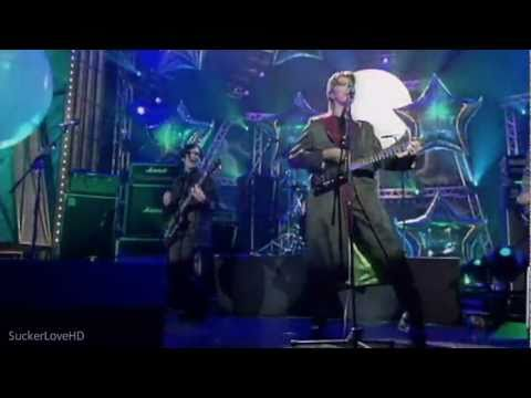 Placebo - 20th Century Boy Feat. David Bowie [The Brit Awards 1999] HD