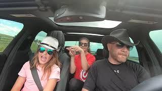 BLOW Carpool Karaoke with Ed Sheeran, Bruno Mars, and Chris Stapleton. (AKA, Bella, Taly, and Me) Video