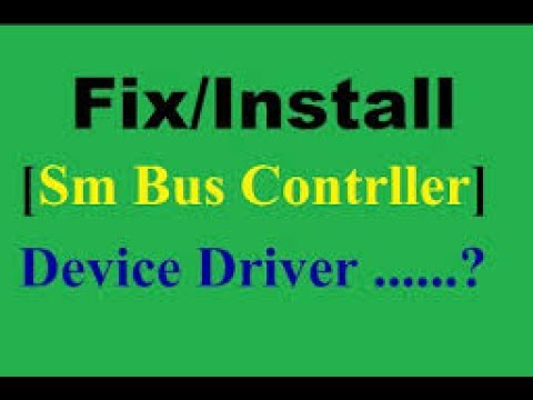 controleur de bus sm windows 8.1