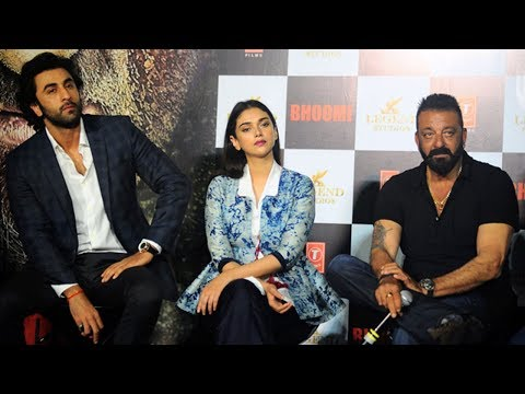 Bhoomi Full Trailer Launch - Sanjay Dutt,...